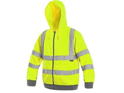 Mikina FROME, žlutá, S-3XL - 47914_1115 027 150 00 FROME