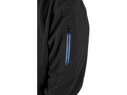 Bunda DURHAM, pánská, černo-modrá, vel. XL