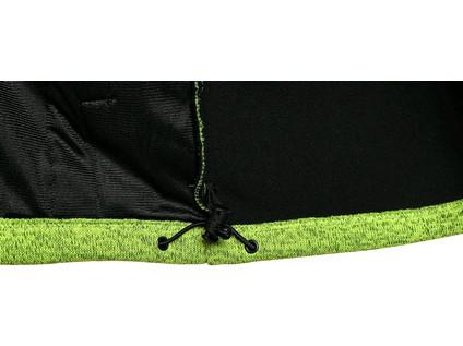 Bunda GARLAND, pánská, zeleno-černá