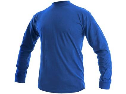 Tričko  PETR, dlouhý rukáv, středně modré, vel. 2XL - 48366_1620 001 413 00 PETR