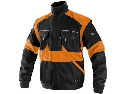Pánská blůza CXS LUXY EDA, černo-oranžová - 4853_1010 006 803 00 EDA