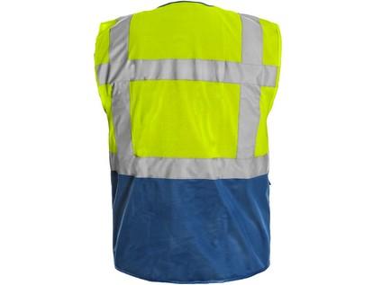Vesta BOLTON, výstražná, žluto-modrá - 49269_1114 037 155 00 BOLTON_ZEZADU