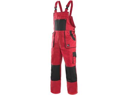Pánské zahradníky CXS LUXY ROBIN, červeno-černé - 4972_1030 006 260 00 EMIL
