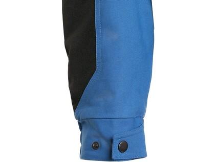 Blůza CXS STRETCH, pánská, středně modrá-černá