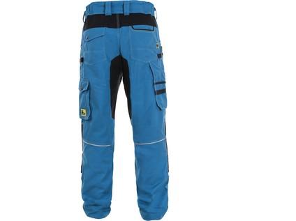 Kalhoty CXS STRETCH, pánské, středně modré-černé - 50285_1020 027 440 00 CXS STRETCH KALHOTY_ZEZADU