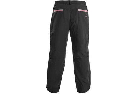 Kalhoty MONTREAL, pánské, černo-červené, vel. XS