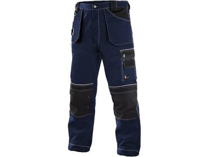 Kalhoty do pasu CXS ORION TEODOR, pánské, tmavě modré-černé, vel. 58
