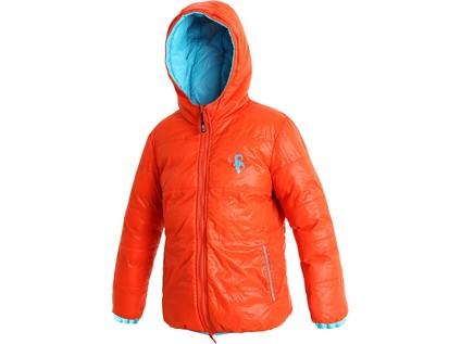 Dětská zimní bunda MEMPHIS, modro-oranžová - 5669_1491-JMOVV