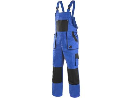 Pánské prodloužené zahradníky CXS LUXY ROBIN, modro-černé - 5672_1030 007 411 00 EMIL