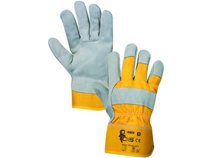 Kombinované rukavice CXS DINGO, vel. 11
