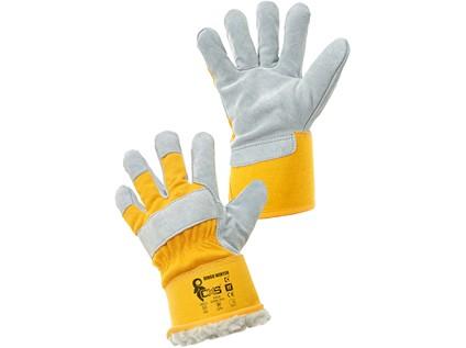 Kombinované zimní rukavice CXS DINGO WINTER. vel. 11