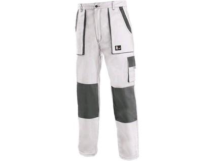 Pánské kalhoty CXS LUXY JOSEF, bílo-šedé - 6066_1020 006 109 00 JOSEF