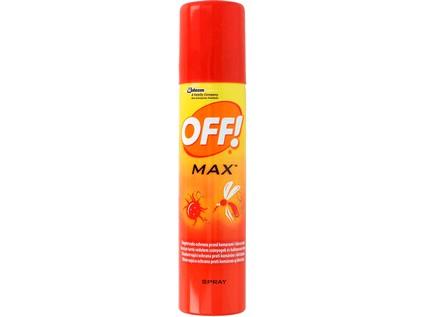 OFF Max repelentní  sprej 100 ml - CZ