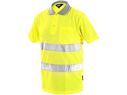 Pánská reflexní polokošile DOVER, žlutá - 6710_1113 001 150 00 DOVER