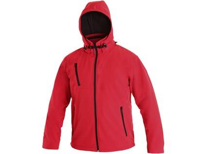Pánská softshell bunda NASHVILLE, červená - 726_1230 017 250 00 NASHVILLE