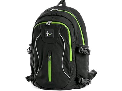 CXS Batoh černo - zelený