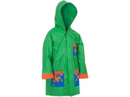 Dětská pláštěnka FROGY, zelená, vel. 130