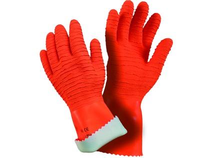 Kyselinovzdorné rukavice MAPA HARPON, vel. 08