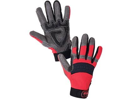 Kombinované rukavice SHARK CXS, vel. 09