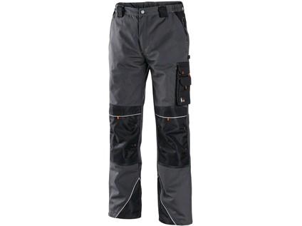 Pánské kalhoty SIRIUS NIKOLAS, šedo-oranžové - 7938_1020 001 703 00 NIKOLAS