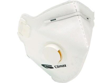 Respirátor Climax 1720 V FFP2, skládaný s ventilkem
