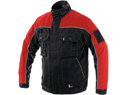 Pánská blůza ORION OTAKAR, černo-červená, vel. 46 - 8330_1010 003 805 00 OTAKAR