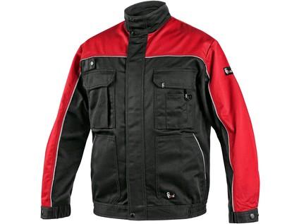 Pánská blůza ORION OTAKAR, černo-červená, vel. 48 - 8385_1010 003 805 00 OTAKAR