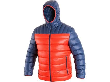 Pánská zimní bunda MEMPHIS, oranžovo-modrá - 844_1210 057 205 97 MEMPHIS