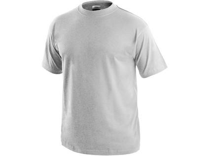 Tričko s krátkým rukávem DANIEL, světle šedý melír - 8680_1610 001 714 00 DANIEL