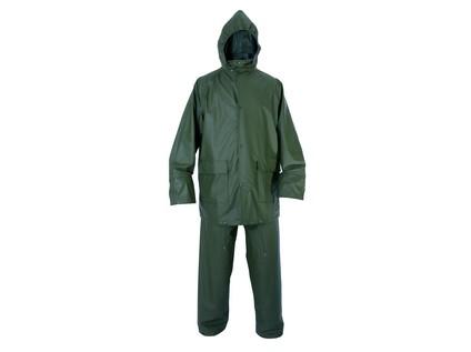 Voděodolný oblek CXS PU. zelený. vel. 3XL