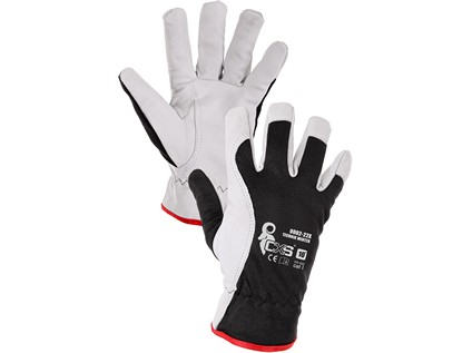 Kombinované zimní rukavice TECHNIK WINTER, vel. 10
