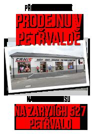Petřvald - nová prodejna