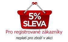 Canis Safety a.s. - 5% sleva pro registrované zákazníky