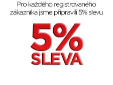 Canis Safety a.s. - Sleva 5% pro registrované zákazníky