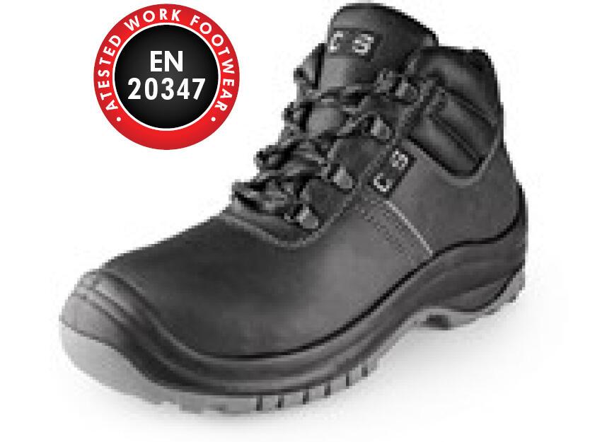 Ankle footwea SAFETY STEEL MANGAN O2, black