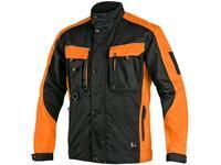 Jacket SIRIUS BRIGHTON, black-orange