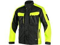 Jacket SIRIUS BRIGHTON, black-yellow