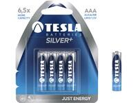 Batteries TESLA AAA Silver+, 4 pieces