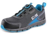 Low footwear CXS ISLAND ARUBA O1, grey - blue, size 38