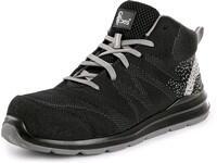 Safety ankle footwear CXS TEXLINE MURTER S1P, black-grey
