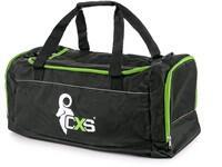 Sportovní taška CXS, černo - zelená, 60 x 30 x 30 cm