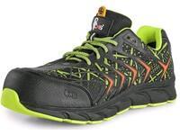 Low footwear CXS ISLAND BENSON S1P, black-green, size 44