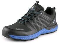 Low softshell footwear CXS SPORT, black-blue