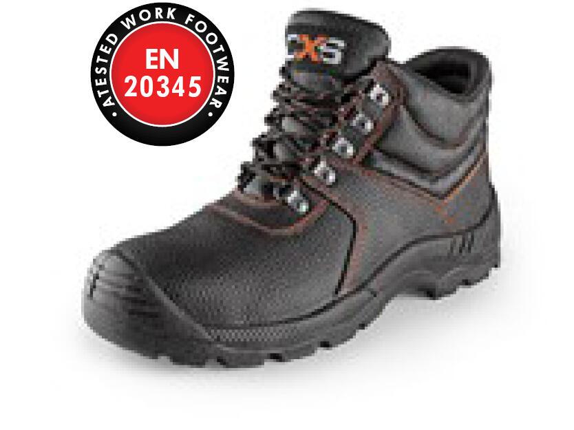 Ankle footwear STONE MARBLE S2, black